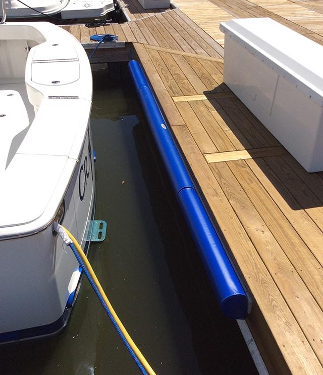 Slammer Marine Integrated Dock Fender